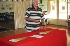 Past President Maurie Pagram